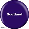 OTBB Scottish Flag Bowling Ball back