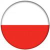 OTBB Polish Flag Bowling Ball front