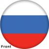 OTBB Russian Federation Flag Bowling Ball front
