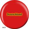 OTBB German Flag Bowling Ball back