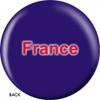 OTBB French Flag Bowling Ball back