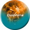OTBB Miami Dolphins Bowling Ball
