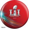 OTTB New England Patriots Bowling Ball Super Bowl 51 Champions front