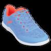 KR Strikeforce Womens Lace Bowling Shoes Sky/Coral top blue lace