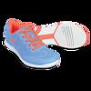 KR Strikeforce Womens Lace Bowling Shoes Sky/Coral setup