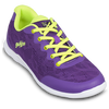 KR Strikeforce Womens Lace Bowling Shoes Purple/Yellow top yellow laces