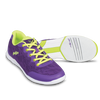 KR Strikeforce Womens Lace Bowling Shoes Purple/Yellow setup