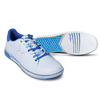 KR Strikeforce Womens Gem Bowling Shoes White/Blue setup
