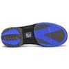 KR Strikeforce Mens Raptor Bowling Shoes Black/Royal bottom