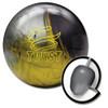 Brunswick Twist Bowling Ball Black/Gold/Silver and core