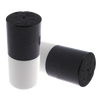Vise Bowling Insert - Duo Urethane Thumb Slug - Black/White