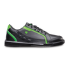 Brunswick Punisher Mens Bowling Shoes Black/Neon Green Left Handed