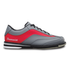 Brunswick Rampage Mens Bowling Shoes Grey/Red Right Handed