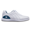 Brunswick Mystic Womens Bowling Shoes White/Navy Wide