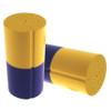 Vise Urethane Duo Color Slug - Yellow/Grape
