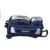KR Strikeforce NFL Dallas Cowboys Triple Roller Bowling Bag laying down