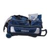 KR Strikeforce NFL Dallas Cowboys Triple Roller Bowling Bag shoe detail