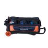 KR Strikeforce NFL Denver Broncos Triple Roller Bowling Bag ball detail