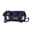 KR Strikeforce NFL Las Vegas Raiders Triple Roller Bowling Bag ball detail