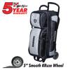 KR Strikeforce NFL Las Vegas Raiders Triple Roller Bowling Bag