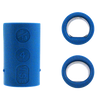 Vise Power Lift & Oval Inserts - Blue