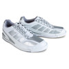 Brunswick Phantom Mens Bowling Shoes - White/Silver Carbon Fiber - Right Handed