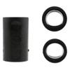 Vise Lady Oval & Power Oval Grip Inserts - Black