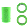 Vise Lady Oval & Power Oval Grip Inserts - Green