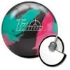 Brunswick Target Zone Razzle Dazzle Bowling Ball and core