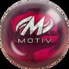 Motiv Thrill Magenta/Wine Pearl Bowling Ball - Motiv Logo
