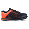 Hammer Rogue Mens Bowling Shoes Black/Orange Right Handed side