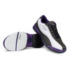 Hammer Lady Force Bowling Shoes White/Black/Purple Right Handed opposite setup