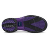 Hammer Lady Force Bowling Shoes White/Black/Purple Right Handed bottom push off
