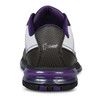 Hammer Lady Force Bowling Shoes White/Black/Purple Right Handed back