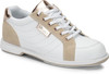 Dexter Groove IV Womens Bowling Shoes White/NuBuck/Rose Gold