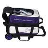 Hammer Vibe 2-Ball Roller Purple/White shoe detail