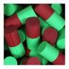 Turbo 2-N-1 Duo Color Urethane Thumb Solid - Red/Green