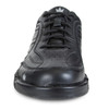 Brunswick Team Brunswick Mens Bowling Shoes - Black - Right Handed - WIDE - front of shoe