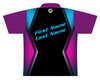 900 Global Bowling Jersey by Logo Infusion - 05029G - Back of Jersey with Sample Text