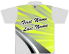 Brunswick Bowling Jersey by Logo Infusion - 0194BR - Back of Jersey with Sample Text