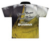 Brunswick Bowling Jersey by Logo Infusion - 0290BR - Back of Jersey with Sample Text