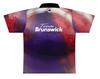 Brunswick Bowling Jersey by Logo Infusion - 0291BR - Back of Jersey