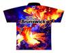 Brunswick Bowling Jersey by Logo Infusion - 0293BR - Back of Jersey