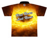 Brunswick Bowling Jersey by Logo Infusion - 0576BR - Back of Jersey with Sample Text