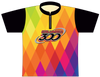Columbia 300 Bowling Jersey by Logo Infusion - 0144CO - Front of Jersey