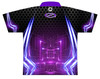Storm Dye Sublimated Bowling Shirt - Style 0245ST - Back of Jersey