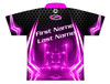 Storm Dye Sublimated Bowling Shirt - Style 0246ST - Back of Jersey with Sample Text