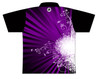 Storm Dye Sublimated Bowling Shirt - Style 0366ST - Back of Jersey