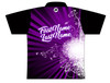 Storm Dye Sublimated Bowling Shirt - Style 0366ST - Back of Jersey with Sample Text