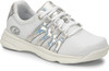 Dexter Kathy Women's Bowling Shoes - White/Silver/Iredescent